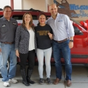 Teacher surprised with donated vehicle