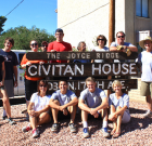 Local youth spruce up Civitan House