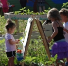 Kids explore studies, nature in outdoor class
