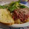 Spaghetti dinner aids cancer research