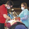 Dentists donate weekend of care