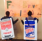 Community food drive aids St. Mary's
