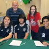 SHS honors athletes at its first LOI event