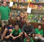 Scout Troop aids church food pantry