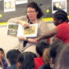 Real estate agents read to kids at clubs