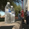 Water donations needed for homeless