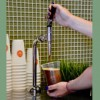 Scramble offers cold-brew coffee on tap