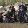 Firefighters wait tables to benefit search dogs