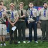 Scout troop honors its latest Eagles