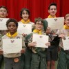 Local Boy Scouts honored for service