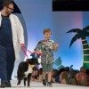 Fashion and furry friends combine