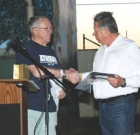 Local businessman honored for service