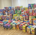 Annual cereal drive aids low-income kids