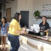 Coffee shop partners with co-working space