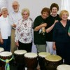 Drumming featured at memory support group