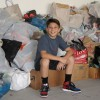 Local youth earns trip with shoe drive