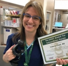 Clarke receives DAISY Award