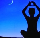 Moonlight yoga at Mountain Shadows