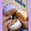 Ice cream sandwiches available at Creamistry