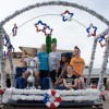 Local twirlers build float for Vets parade