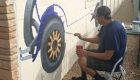 Museum unveils whimsical mural