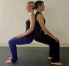 Couples connect with Partners Yoga