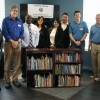 Kiwanis launch library project at apartments