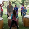 Children's Day held at Japanese garden