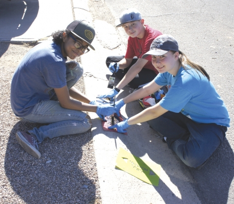 New volunteer group already tackles projects