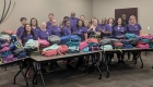 Providing backpacks to kids in need