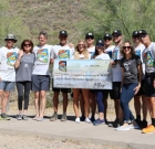 Hikers raise funds for foster advocates