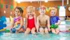 Swim lessons offered after school, weekends