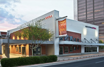 Arizona Opera celebrates the opening of its new center with a Grand Opening Weekend of activities and previews, Oct. 4-5.
