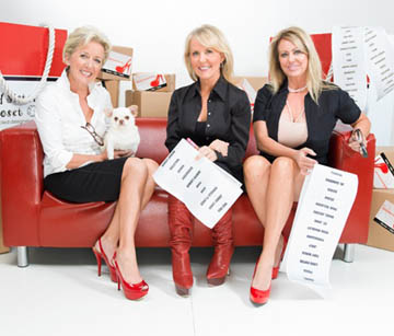 The team behind the successful My Sister's Closet franchise includes, from left: Ann Siner, founder and CEO; Tess Loo, sister and head stylist; and Jenny Siner, co-founder and co-owner (submitted photo).