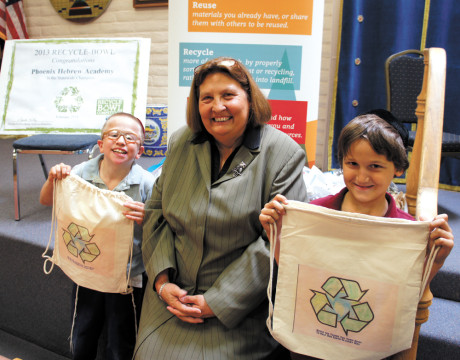 Local academy is winner of the Recycle Bowl