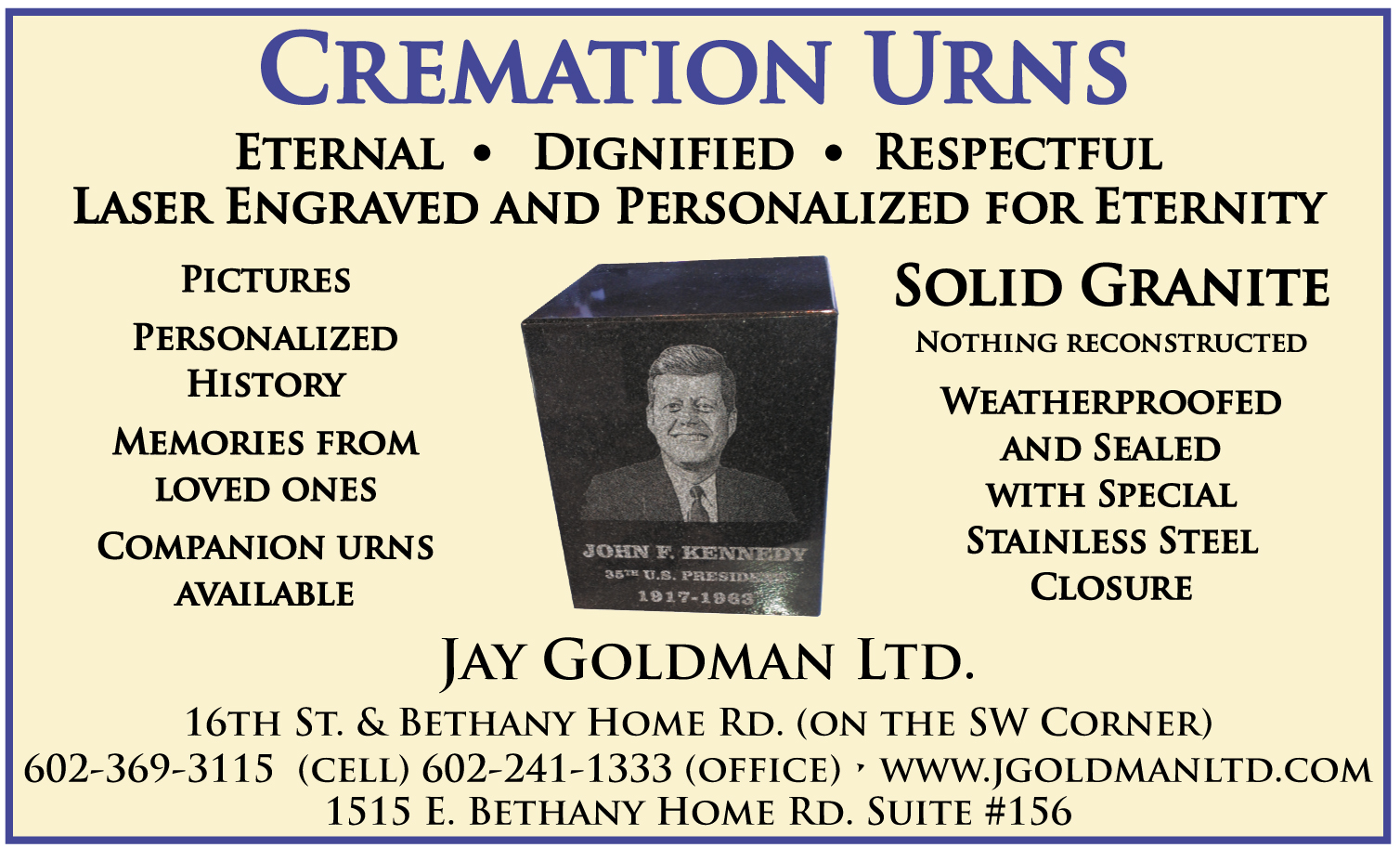 Jay Goldman Ltd.