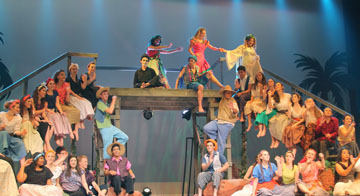 """The Xavier-Brophy Theatre received several awards and award nominations for last year's production of """"Once On This Island,"""" including awards for Outstanding Production and Outstanding Ensemble (submitted photo)."""