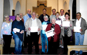 "Faith Ecumenical Institute, which launched its first series of classes in September 2014, recently ""graduated"" its first class of students from its religious studies curriculum (submitted photo)."