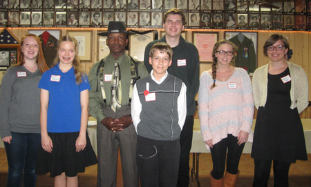 The local winners of the Veterans of Foreign Wars' 2014 Voices of Democracy, Patriot's Pen and Citizenship Education Teacher Awards (submitted photo).