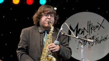 "Alto saxophonist Alan Acosta was member of the Tucson Jazz Institute from seventh to 12th grade. He performed with the TJI's top ensemble, the Ellington Big Band, which took first place in the Essentially Ellington High School Jazz Band Competition and Festival in both 2013 and 2014. He will be appearing at The Nash on July 9 as part of the ""Catch A Rising Star"" series (submitted photo)."