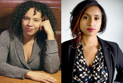 Poets Francine J. Harris (left) and Tarfia Faizullah will share their work during First Friday on Sept. 4 at the Phoenix Art Museum (submitted photos).