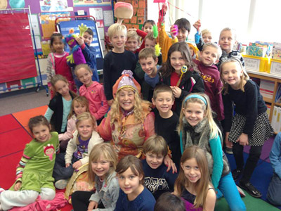Former Sunnyslope High School Theater Teacher Julie Goehring-Stephenson didn't slow down one bit after her retirement nine years ago. Through a series of serendipitous conversations, she developed the character of Sarabelle Toothington, the Tooth Fairy. She entertained and educated children about dental health in regular appearances at the Children's Museum of Phoenix and at schools valleywide (submitted photo).