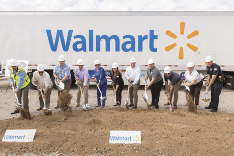 Officials with Walmart, the city of Phoenix and Carlyle Development Group—along with area business leaders—were on hand July 20 to conduct a ceremonial groundbreaking for a new Walmart Supercenter. The project represents the single-largest capital investment in Metrocenter Mall in decades and will open in Spring 2017 (submitted photo).