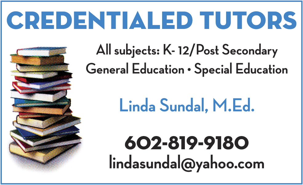Credentialed tutors