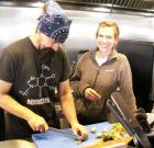 Community vibe, organic treats at Persepshen