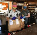 Restaurants cope with Coronavirus, give back