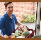 Senior centers delivering meals to seniors