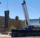Light rail construction advancing on time