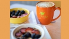 Enjoy coffee and breakfast and help support refugees