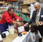 Chef helps raise funds for food bank